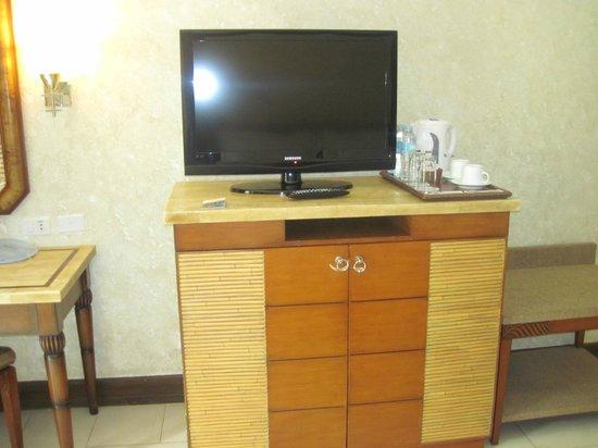 Henann Regency Resort & Spa:                   TV & the mini bar