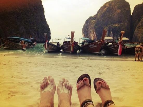Rattana Residence:                   Maya Beach :)