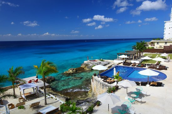 Hotel B Cozumel:                   View from room