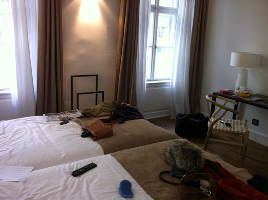 Hotel Zenit Budapest Palace:                   Hotel room 317.