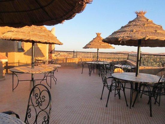 Riad Nezha: Rooftop restaurant