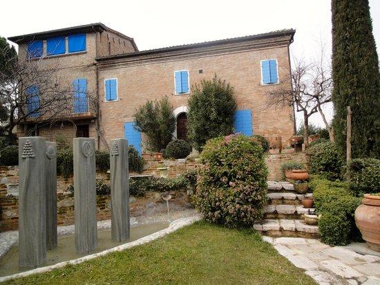 Hotel Il Villino:                   View on the front