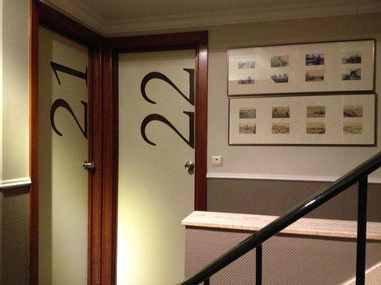 Hotel De Hofkamers: 2nd floor