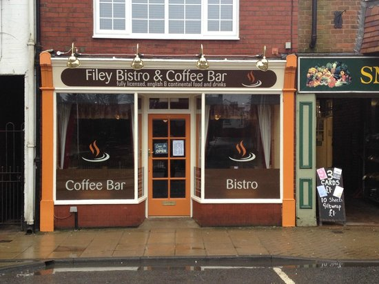 Filey Bistro & Coffee Bar: Front