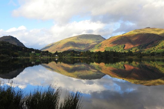 Grasmere Lake, a short walk from Lucia's Takeaway