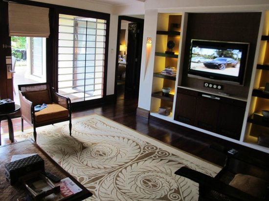 The St. Regis Bali Resort: Living room for the 2 bedroom villa