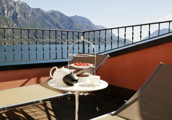 Hotel Belvedere Bellagio: Tee Time out on the Terrace