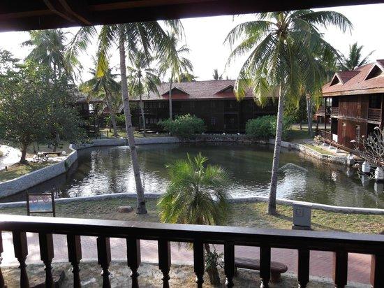 View From Lake View Room Picture Of Pelangi Beach Resort Spa Langkawi Pantai Cenang Tripadvisor