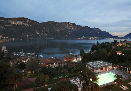 Lake View From La Terrazza Belvedere Restaurant Picture Of
