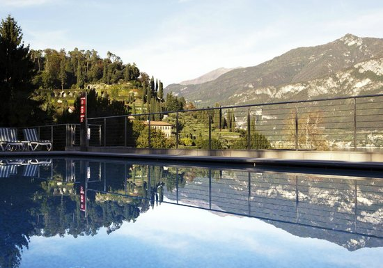 Hotel Belvedere Bellagio: View Outdoor Heated Pool