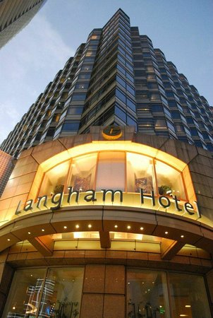 The Langham, Hong Kong:                   Outside Langham