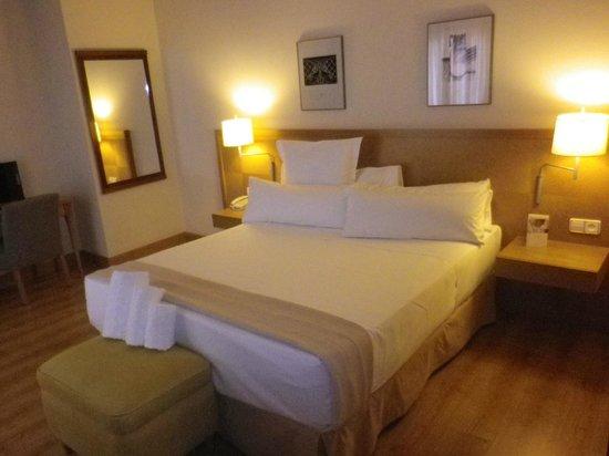 Hesperia Vigo:                   habitacion