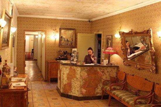 Rachmaninov Art-Hotel: Reception