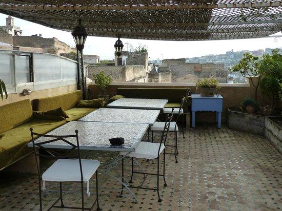 Riad Laayoun:                   Terrasse