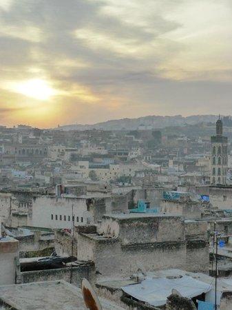 Riad Laayoun:                   Vue depuis la terrasse