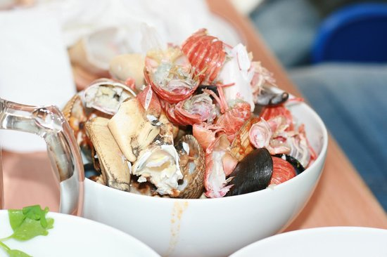 Cafe Barge:                   The results of the Seafood Massacre