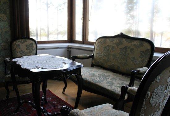 Art Hotel Honkahovi: Library