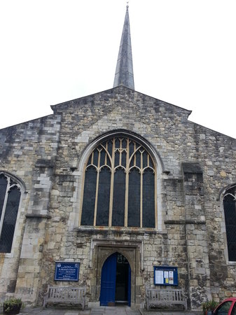 St Michael's Church:                   from the square