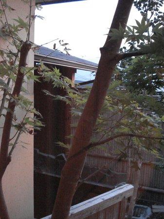 Takenokura Sanso:                   部屋からの眺め、客室露天付き