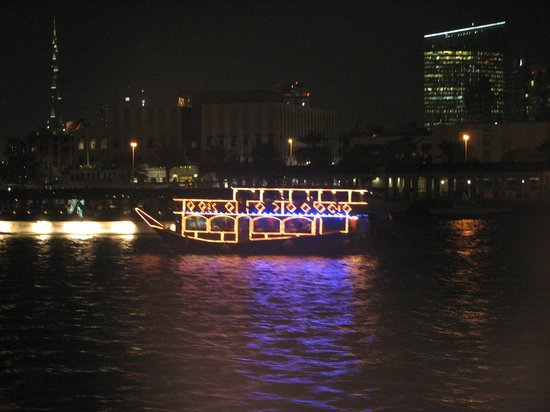 Dhow Dinner Cruise: Dhow's on the Creek