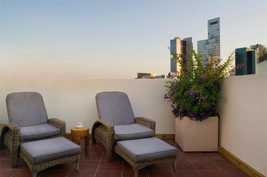 The Rothschild 71: Penthouse Suite Balcony