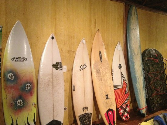 Clandestino Beach Resort:                   Surf