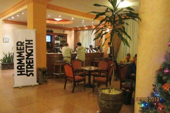 Harmony Hotel:                   lobby