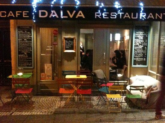 Dalva : Vue de la devanture