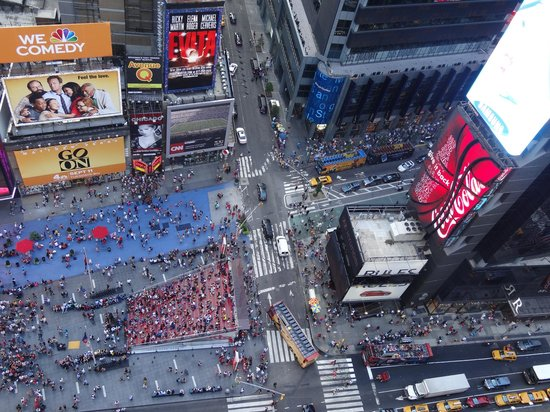 DoubleTree Suites by Hilton Hotel New York City - Times Square:                   View from room