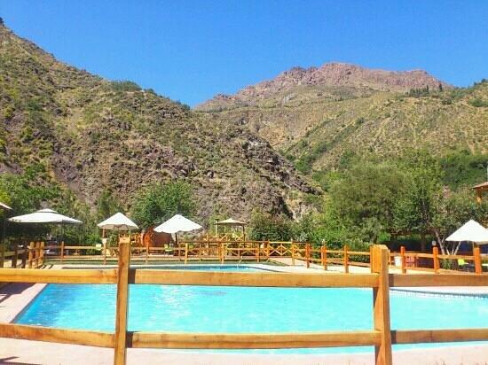Santuario del Rio:                   piscina exterior