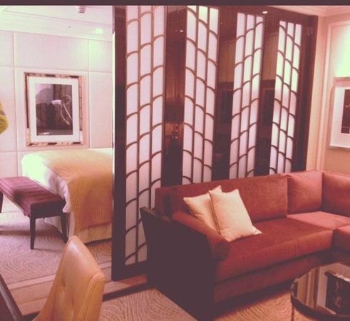 The Wellesley:                   Our room