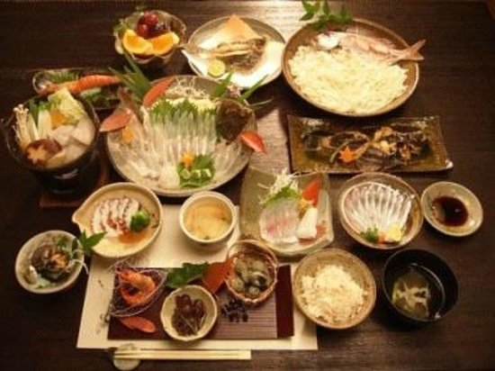 Pension Nojigiku: 野路菊の料理
