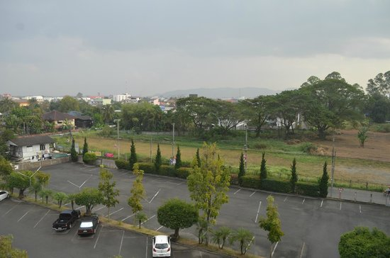 Wiang Inn Hotel:                   View from room