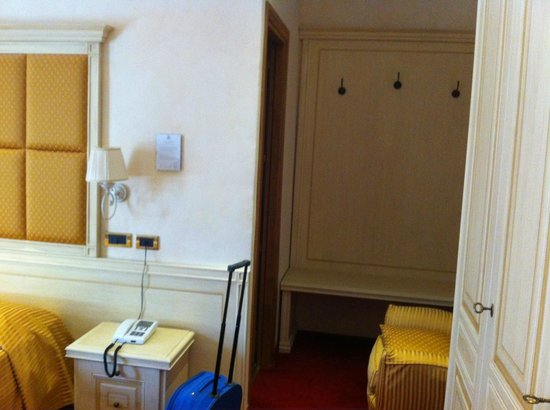Grand Hotel Milano:                   camera