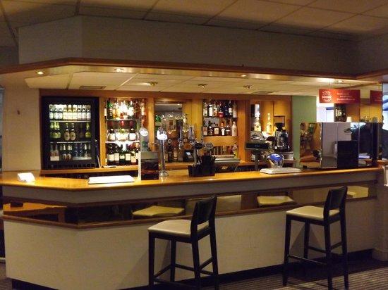 Holiday Inn Warrington:                   the bar