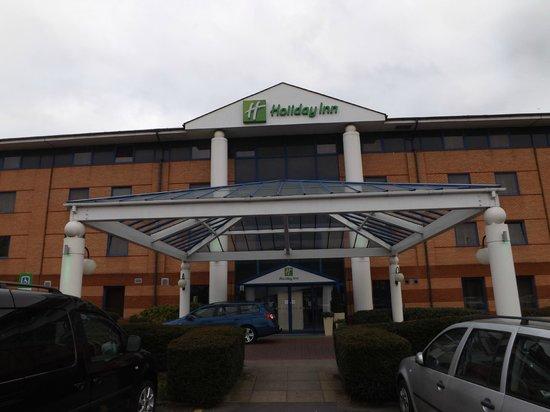 Holiday Inn Warrington:                   the outside
