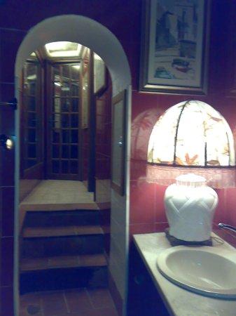 Osteria St. Ana:                   bathroom