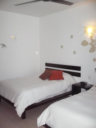 Hotel Casa Ticul:                   Twin room