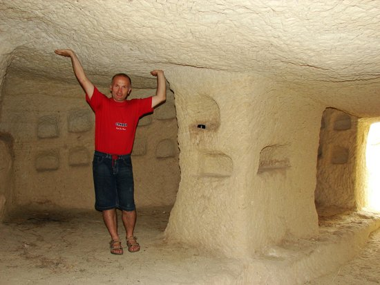 Ufuk Pension:                   The perfect cave room