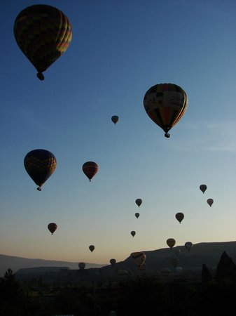 Ufuk Pension:                   Goreme baloons