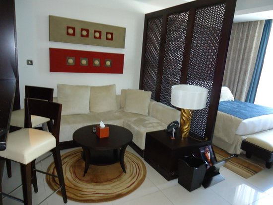The Address Downtown Dubai:                   Spacious Studio Room with fully equipped kitchenette