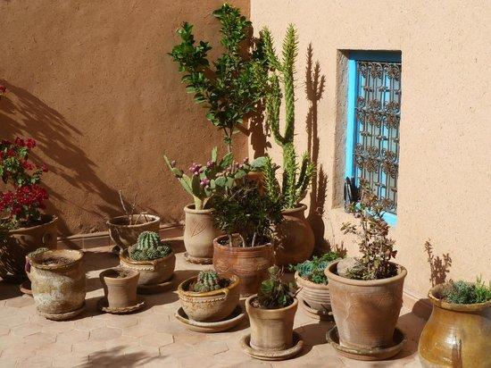 Kasbah ISWAN :                                                       cour intérieure