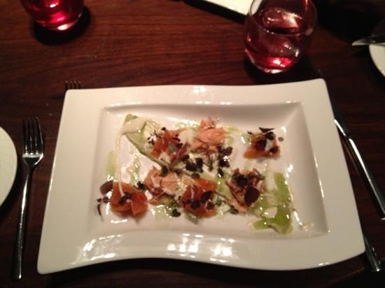Quills Restaurant:                   starter