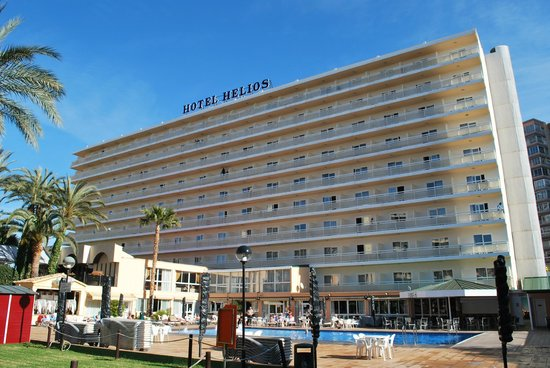 Hotel Helios Benidorm:                                     hotel