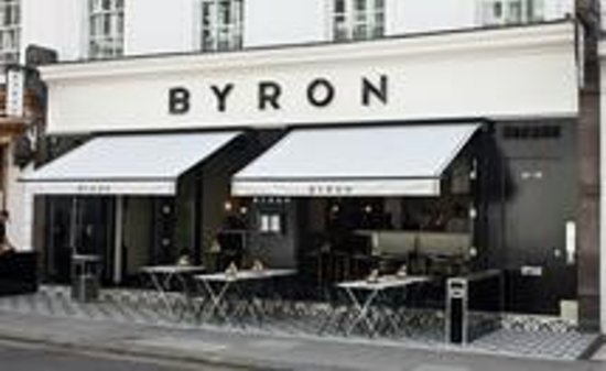 Byron Old Brompton Road:                   Byron, front view
