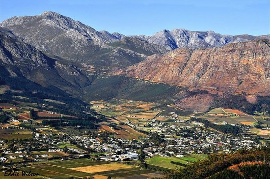 Franschhoek Wine Valley view