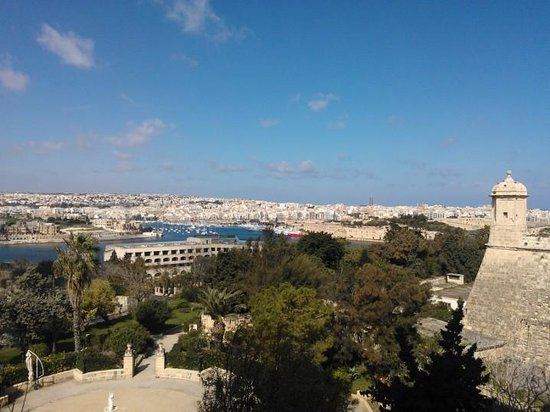 The Phoenicia Malta:                   View from room
