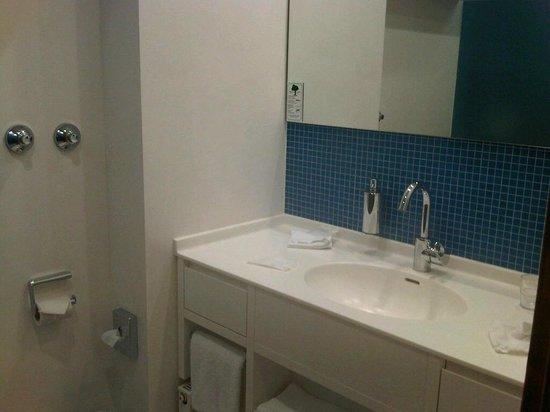 Forsthaus am See:                   Refurbished bathroom