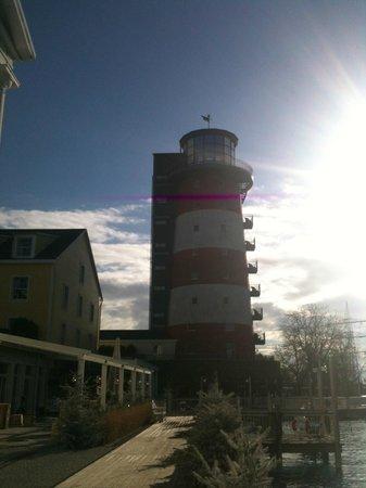 """Hotel """"Bell Rock"""" Europa-Park: Leuchtturm mit Restaurant und Zimmer"""