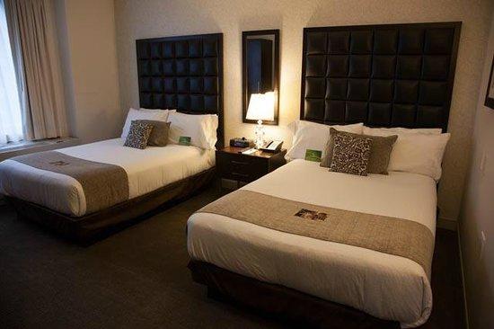 Distrikt Hotel New York City:                   room 2x doubles